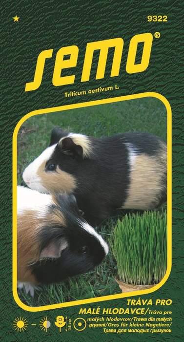 Tráva pro malé hlodavce