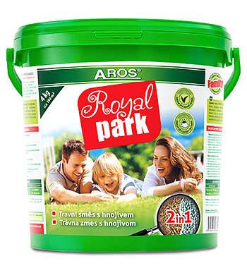 AROS travní směs ROYAL PARK kbelík FAMILY