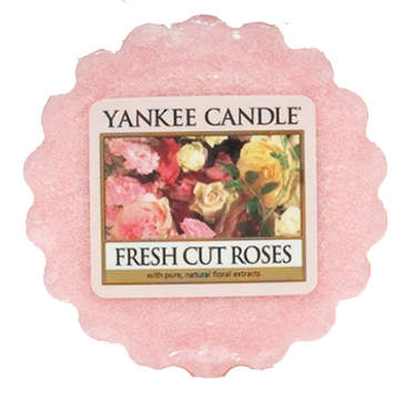 Vosk YANKEE CANDLE 22g Fresh cut roses