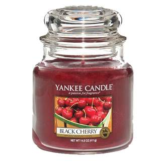 Svíčka YANKEE CANDLE 411g Black Cherry