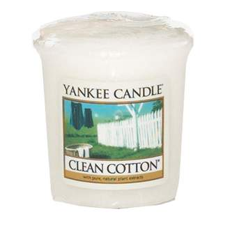 Votiv YANKEE CANDLE 49g Clean Cotton