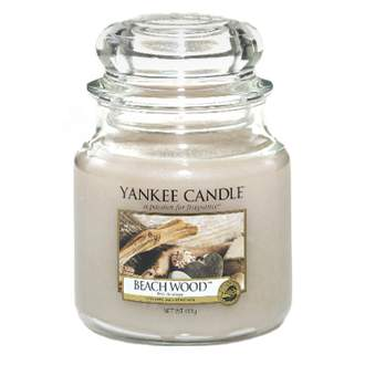 Svíčka YANKEE CANDLE 411g Beach Wood