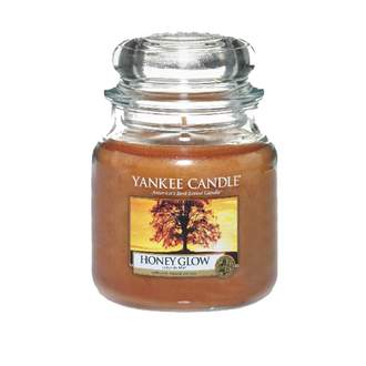 Svíčka YANKEE CANDLE 411g Honey Glow
