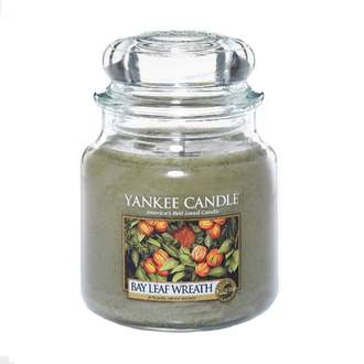 Svíčka YANKEE CANDLE 411g Bay Leaf Wreath