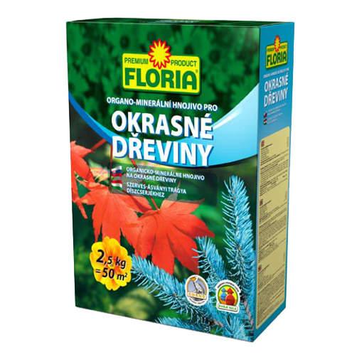 Hnojivo OM okrasné dřevinY FLORIA 2,5 kg