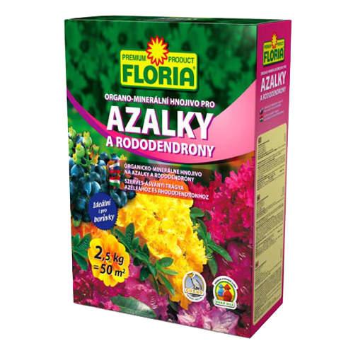 Hnojivo OM azalky a rododendrony FLORIA 2,5 kg