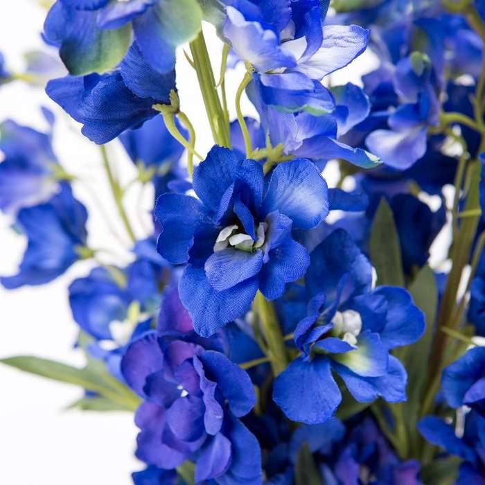 Ostrožka MORPHO řezané umělé tmavě modré