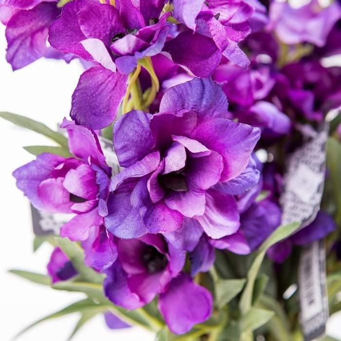 Ostrožka MORPHO řezané umělé fialové