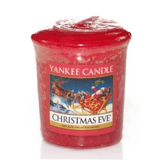 Votiv YANKEE CANDLE 49g Christmas Eve Red