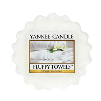 Vosk YANKEE CANDLE 22g Fluffy Towels