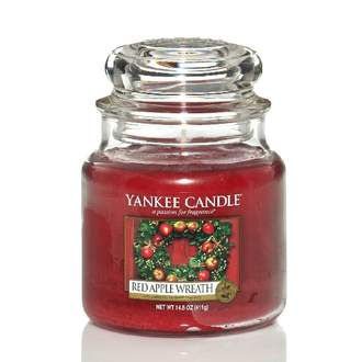 Svíčka YANKEE CANDLE 411g Red Apple Wreath