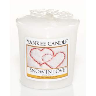 Votiv YANKEE CANDLE 49g Snow in Love