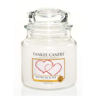 Svíčka YANKEE CANDLE 411g Snow in Love