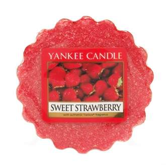Vosk YANKEE CANDLE 22g Sweet Strawberry