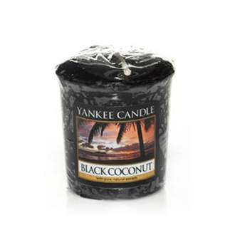Votiv YANKEE CANDLE 49g Black Coconut