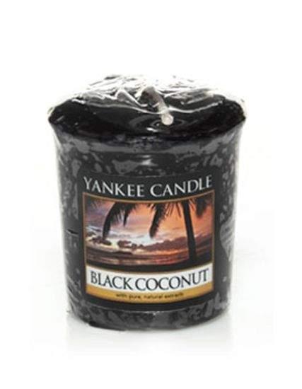 Votiv YANKEE CANDLE 49g Black Coconut