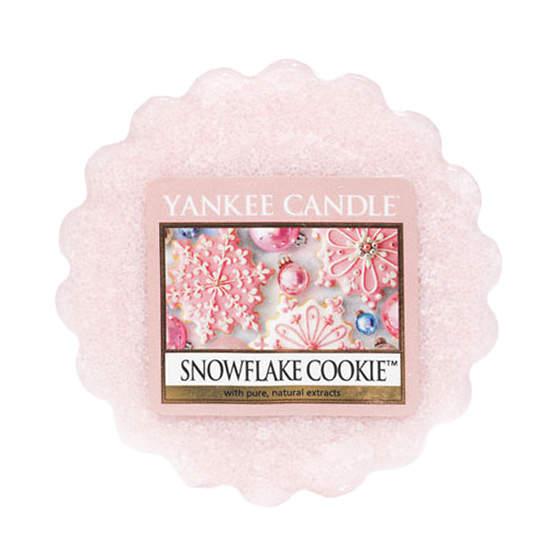 Vosk YANKEE CANDLE 22g Snowflake Cookie