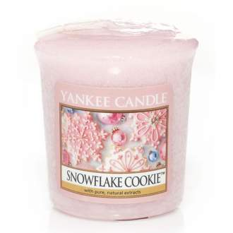 Votiv YANKEE CANDLE 49g Snowflake Cookie