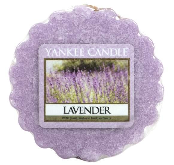 Vosk YANKEE CANDLE 22g Lavender