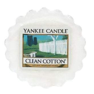 Vosk YANKEE CANDLE 22g Clean Cotton