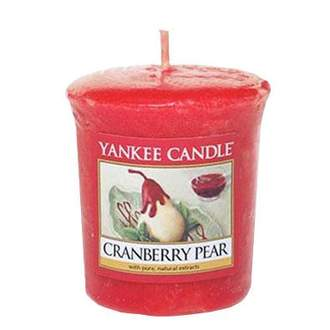 Votiv YANKEE CANDLE 49g Cranberry Pear