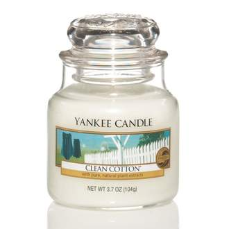 Svíčka YANKEE CANDLE 104g Clean Cotton