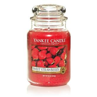 Svíčka YANKEE CANDLE 623g Sweet Strawberry