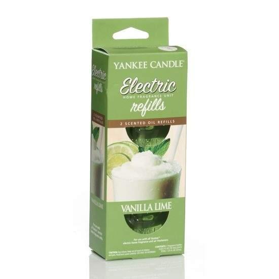Vůně do zásuvky YANKEE CANDLE náplň Vanilla Lime