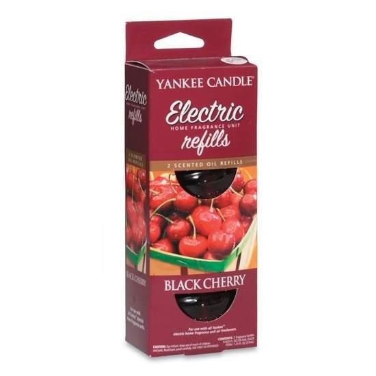 Vůně do zásuvky YANKEE CANDLE náplň Black Cherry