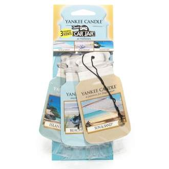 Papírová visačka YANKEE CANDLE Beach Vacation 3ks