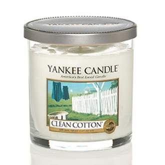 Svíčka YANKEE CANDLE Décor 198g Clean Cotton