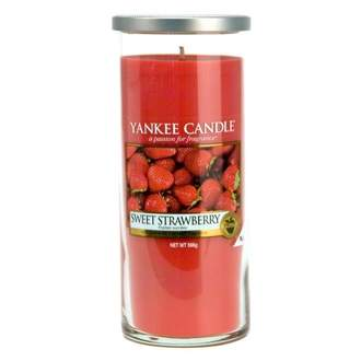 Svíčka YANKEE CANDLE Décor 538g Sweet Strawberry