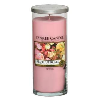 Svíčka YANKEE CANDLE Décor 566g Fresh Cut Roses