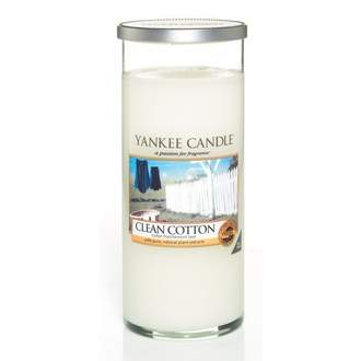 Svíčka YANKEE CANDLE Décor 566g Clean Cotton