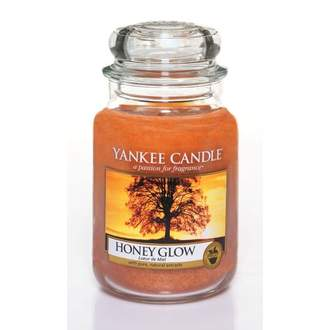 Svíčka YANKEE CANDLE 623g Honey Glow
