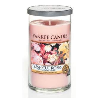 Svíčka YANKEE CANDLE Décor 340g Fresh Cut Roses