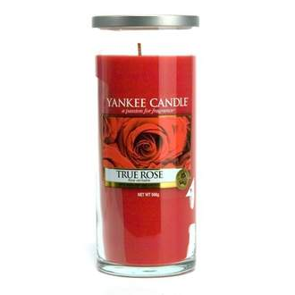 Svíčka YANKEE CANDLE Décor 566g True Rose