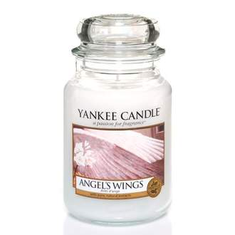 Svíčka YANKEE CANDLE 623g Angel's Wings