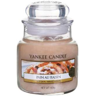 Svíčka YANKEE CANDLE 104g Pain au Raisin