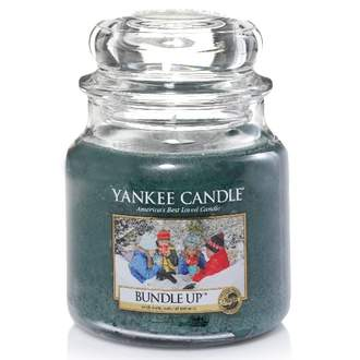 Svíčka YANKEE CANDLE 411g Bundle Up