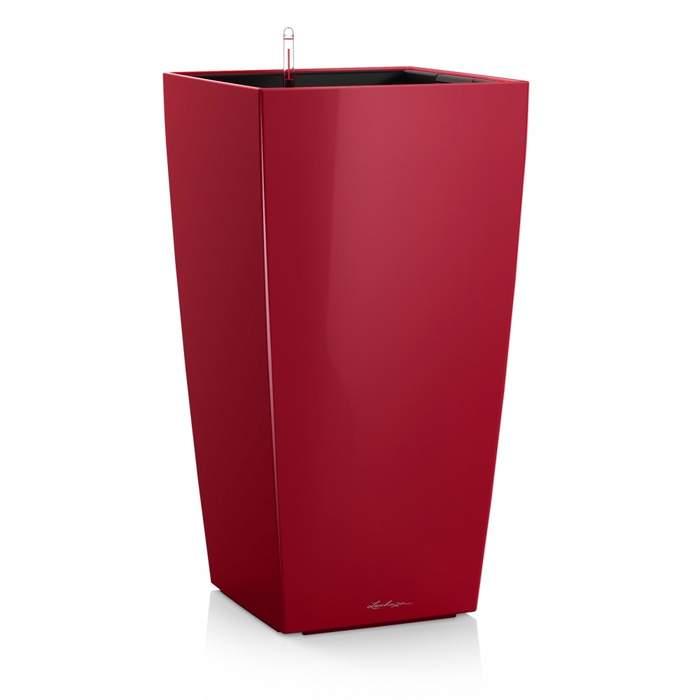 Květináč CUBICO komplet set 30cm červená