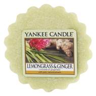 Vosk YANKEE CANDLE 22g Lemongrass & Ginger