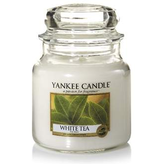 Svíčka YANKEE CANDLE 411g White Tea