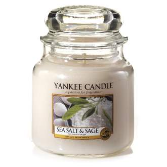 Svíčka YANKEE CANDLE 411g Sea Salt & Sage