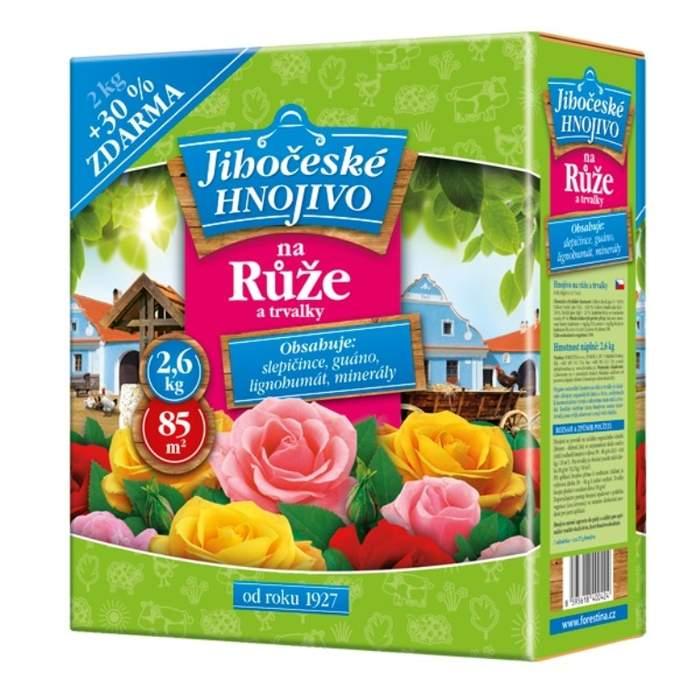 Jihočeské hnojivo na růže a trvalky 2kg