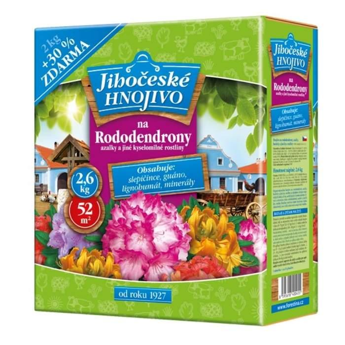 Jihočeské hnojivo na azalky a rododendrony 2kg