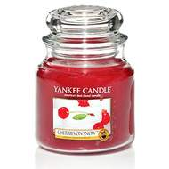 Svíčka YANKEE CANDLE 411g Cherries on Snow