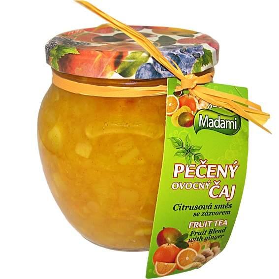 Madami Pečený čaj Citrusová směs se zázvorem 520ml