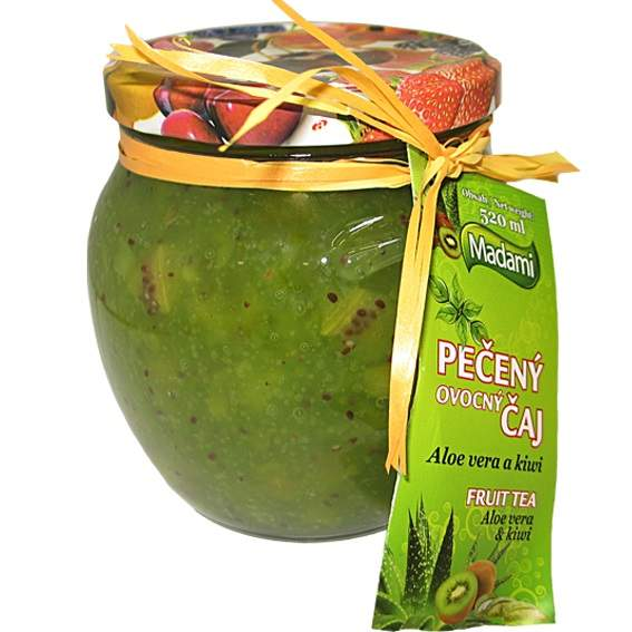 Madami Pečený čaj Aloe Vera & Kiwi 520ml