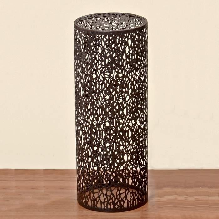 E-shop Stůl kulatý kovový FREDERIKE 70cm